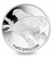 Collared Lory - 2017 Proof Sterling Silver Coin