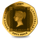 180th Anniversary of the Penny Black Stamp - 2020 22ct Gold Proof 50p