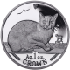 Isle of Man 1996 - Burmese Cat - Uncirculated Cupro Nickel Crown Coin