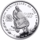 Isle of Man 1997 - 90th Anniversary of the TT Races: Bob McIntyre - Uncirculated Cupro Nickel Coin