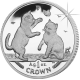 Isle of Man 2004 - Tonkinese Cat - Uncirculated Cupro Nickel Coin