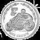 Isle of Man 2005 - TT Races celebrate the Italian Connection: Pasolini - Cupro Nickel Coin