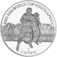 Isle of Man 2010 - FIFA World Cup South Africa™ - Table Mountain - 1 Crown Cupro Nickel