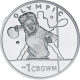 Isle of Man 2012 - Olympic Collection: Tennis - Proof Sterling Silver Coin