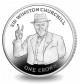 Sir Winston Churchill Commemorated - 2015 Proof Sterling Silver Crown