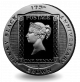 175th Anniversary of the Penny Black Stamp - 2015 Proof Sterling Silver Crown