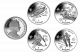 Isle of Man 2014 - Winter Olympic Series - Uncirculated Cupro Nickel 4 Coin Set