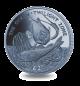 Ocean Zones: Twilight Zone - 2016 Ocean Blue Titanium Coin
