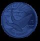 Blue Whale - 2017 Blue Titanium Coin