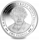 70 Years of HM QE II and Prince Philip: Portrait of Queen Elizabeth - 2017 SGA Proof Sterling Silver