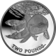 South Georgia and South Sandwich Islands 2014 - The Spectacled Porpoise - Cupro Nickel Coin