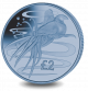 Blue Squid - 2017 Blue Titanium Coin