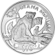 Sierra Leone 2009 - Endangered Primates: Diana Monkey - Uncirculated Cupro Nickel