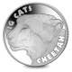 Big Cats: The Cheetah - 2020 Uncirculated Cupro Nickel Coin