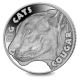 Big Cats: Cougar - 2020 Proof Fine Silver 2oz High Relief Coin