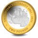 60th Anniversary of the Antarctic Treaty - 2021 Proof Fine Silver with Goldclad £2 Coin - BAT