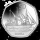 Scotia - 2021 Unc. Cupro Nickel Diamond Finish 50p Coin - BAT