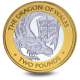 The Queen's Beasts: The Red Dragon of Wales - 2021 Bi-Metal £2 Coin - BIOT