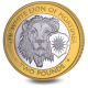 The Queen's Beasts: The White Lion of Mortimer - 2021 Bi-Metal £2 Coin - BIOT