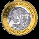 The Queen's Beasts: The Unicorn of Scotland - 2021 Bi-Metal £2 Coin - BIOT