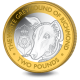 The Queen's Beasts: The White Greyhound of Richmond - 2021 Bi-Metal £2 Coin - BIOT