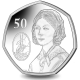 Bicentenary of the Birth of Florence Nightingale - 2020 Cupro Nickel Diamond Finish 50p Coin - BIOT
