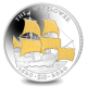 The Mayflower - 2020  - Proof Sterling Silver Coin with GoldClad® Sails