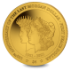 Centenary of the Transition of the Morgan Dollar to the Peace Dollar - 2021 Proof Fine Half Gram Gold $4 Coin - BVI