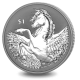 Pegasus - 2021 Reverse Frosted Silver Bullion Coin - BVI