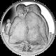 British Antarctic Territory 2013 - Emperor Penguin Chicks - Uncirculated Cupro Nickel Coin