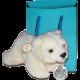 Isle of Man 2013 - Kermode Bear with White 'Spirit Bear' Toy - Uncirculated Cupro Nickel Crown