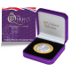 The Queen's Beasts: The Red Dragon of Wales - 2021 Proof Fine Silver with Goldclad £2 Coin - BIOT