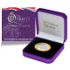 The Queen's Beasts: The Griffin of Edward III - 2021 Proof Fine Silver with Goldclad® £2 Coin - BIOT