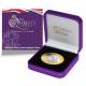 The Queen's Beasts - The Lion of England - 2021 Proof Fine Silver with Goldclad £2 Coin - BIOT
