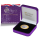 The Queen's Beasts: The White Lion of Mortimer - 2021 Proof Fine Silver with Goldclad® £2 Coin - BIOT