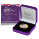 The Queen's Beasts: The Unicorn of Scotland - 2021 Proof Fine Silver with Goldclad® £2 Coin - BIOT