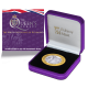 The Queen's Beasts: The White Greyhound of Richmond - 2021 Proof Fine Silver with Goldclad® £2 Coin - BIOT