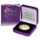 The Queen's Beasts: The Yale of Beaufort - 2021 Proof Fine Silver with Goldclad £2 Coin - BIOT