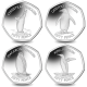 SGA Penguins 50p Limited Edition 4 Coin Set - 2020 Cupro Nickel - Uncoloured