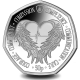 Angel Wings - 2021 Unc. Cupro Nickel Diamond Finish 50p Coin - SGA