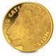 Big Cats - Lion 1/2 Gram Proof Gold - 2020 Sierra Leone