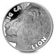 Big Cats: Lion - 2020 Proof Fine Silver 2oz High Relief Coin