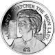 Ascension Island 2013 - Baroness Thatcher, LG. OM. PC. FRS - Proof Sterling Silver Coin