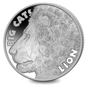 Big Cats: The Lion - 2020 Uncirculated Cupro Nickel Coin