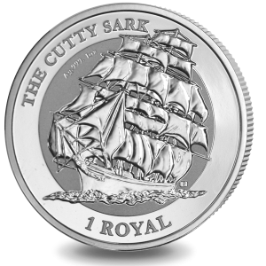 Cutty Sark - 2021 Reverse Frosted Silver Bullion Coin - BIOT