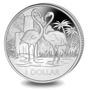 Flamingo - 2021 Uncirculated Cupro Nickel Coin - BVI