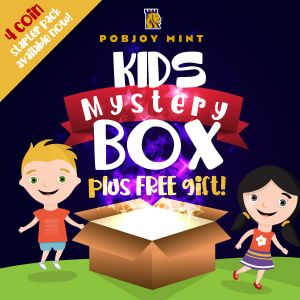 2021 Kids Mystery Box - 4 Coin Starter Pack + Free Gift