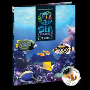 Sea Creatures 50p Series - 2021 Collectors Album - BIOT