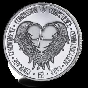 Angel Wings - 2021 Unc. Cupro Nickel £2 Coin - SGA