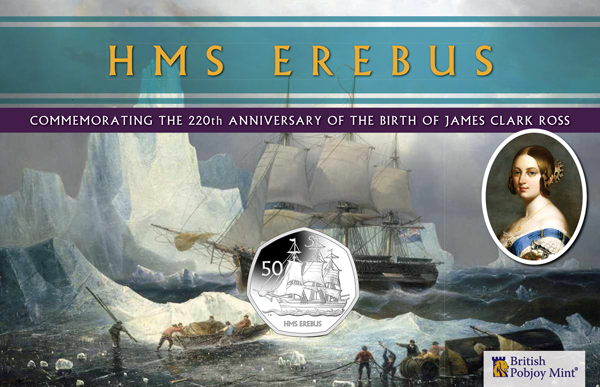 Celebrate the Bi-Centenary of the Discovery of Antarctica with the HMS Erebus